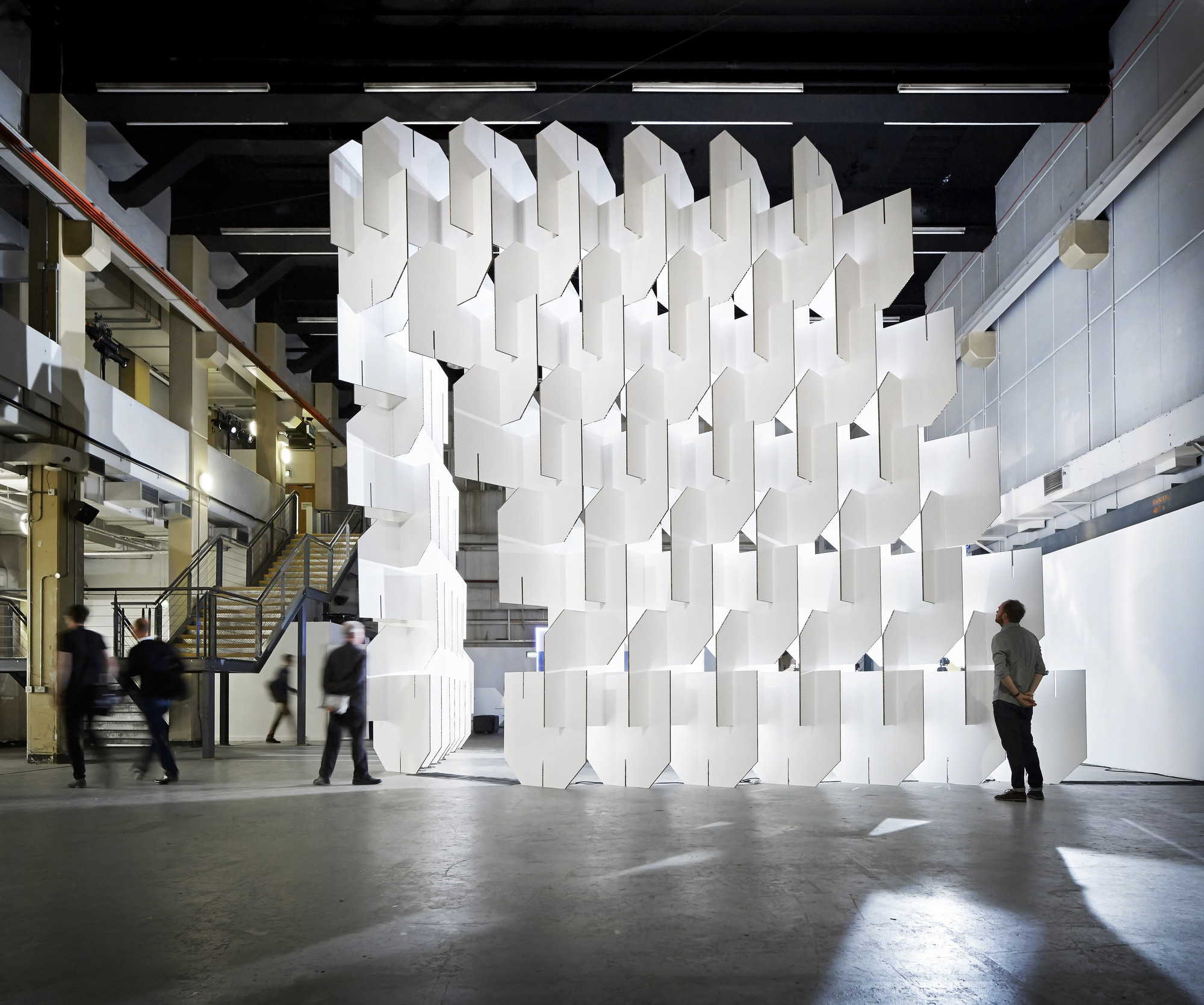 Populous Creates Eames Inspired Installation For World