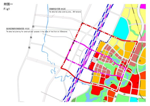 The Gui'an comprehensive high-speed railway transportation hub and CBD covers an area of 464 hectares (Fig. 1)