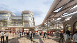 Foster + Partners Win Competition to Design Cardiff Interchange