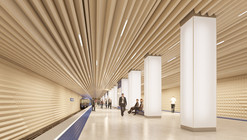 Variant Studio propõe a estação de metrô mais silenciosa do mundo em Moscou