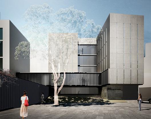 Proposta premiada com o primeiro lugar no concurso Fundação Casa de Rui Barbosa. Projeto de Grupo Arquitetura. Image Cortesia de IAB-RJ