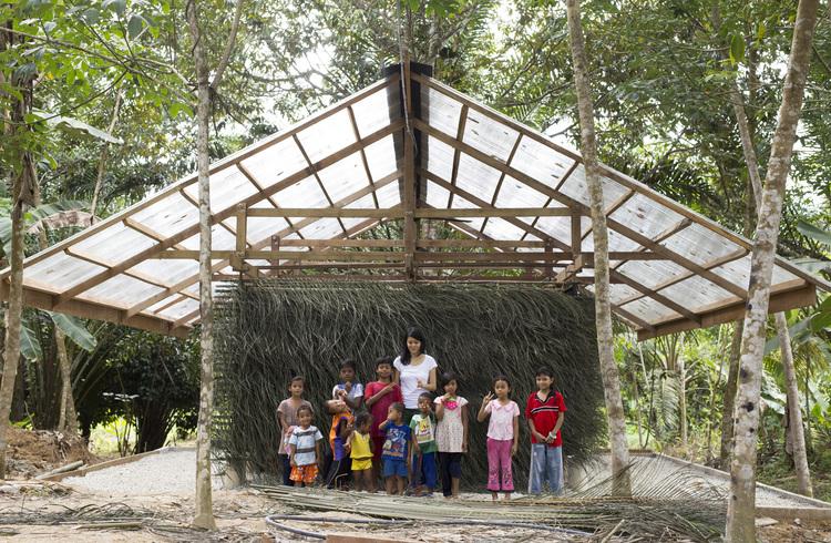 Andamios y revestimiento vernacular: la fabricación de un centro comunitario en Malasia, © Boo Chung, Wendi Ching, Wen Hsia