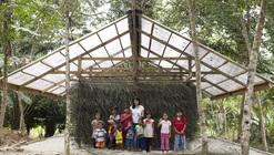 Andamios y revestimiento vernacular: la fabricación de un centro comunitario en Malasia