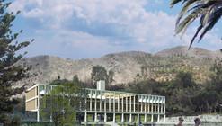 LLONAZAMORA, segundo lugar en concurso de nuevo edificio del Rinconada Country Club / Perú