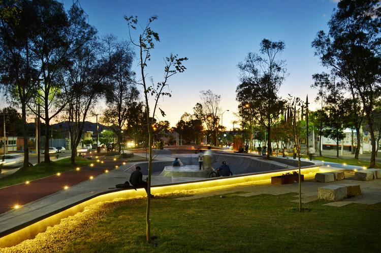 Proyecto urbano en México: Regeneración de Canal Interceptor Tramo 2 en Aguascalientes, © Oscar Hernández