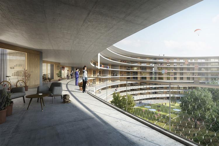 Dürig AG Designs Student Housing for University of Lausanne, Courtesy of Dürig AG