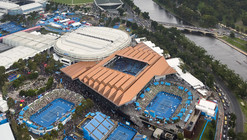 Margaret Court Arena Redevelopment / NH Architecture + Populous