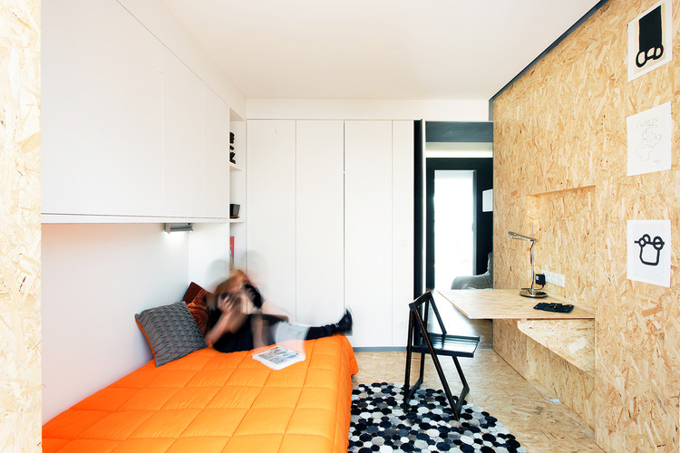 Xadrez Apartment / UMA Collective, Courtesy of Rui Cruz, UMA Collective