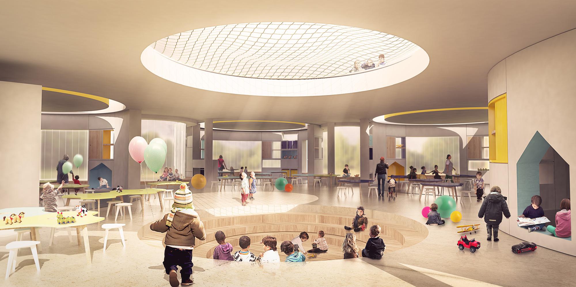Galer a de fp arquitectura primer lugar en concurso for Diseno de interiores siglo xxi