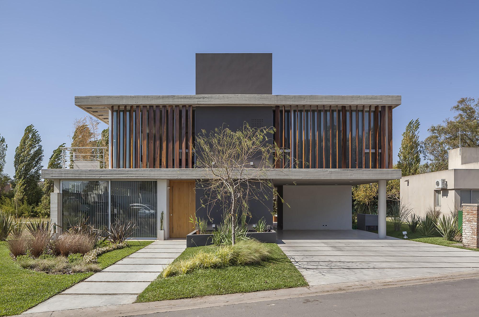 Casa haras estudio geya plataforma arquitectura for Parasoles arquitectura