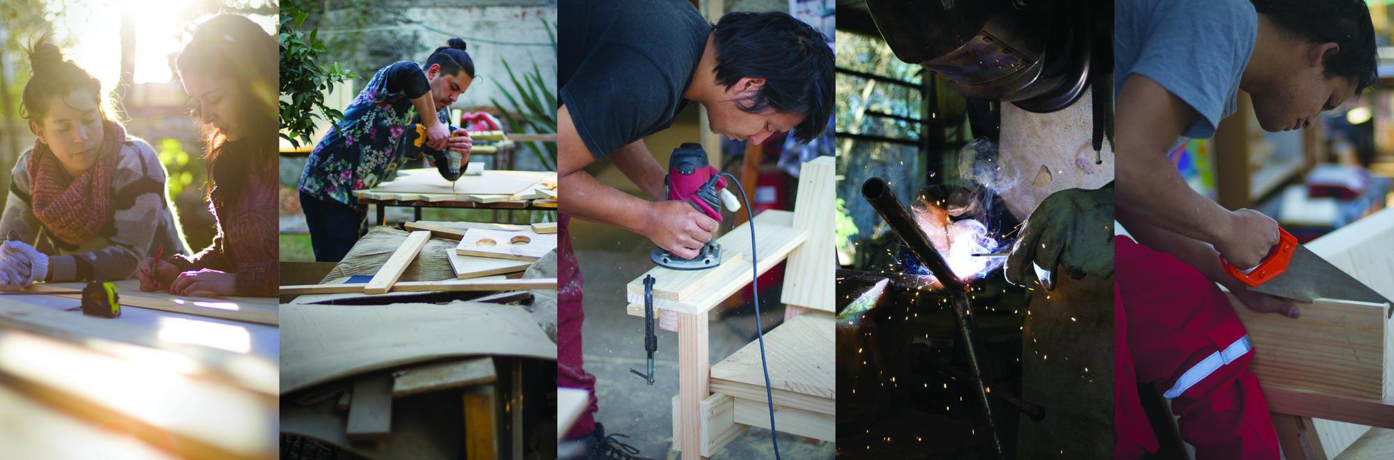 LaPlaza y Cerveza Corona; la primera comunidad de diseño chileno crea una línea de mobiliario inspirado en la marca