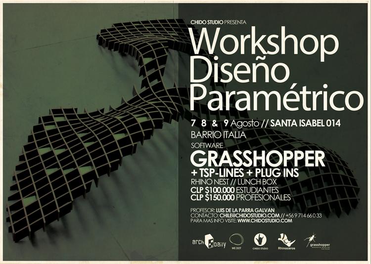 Chido Studio: workshop sobre diseño paramétrico / Santiago
