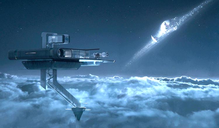 """Cine y Arquitectura: """"Oblivion"""""""