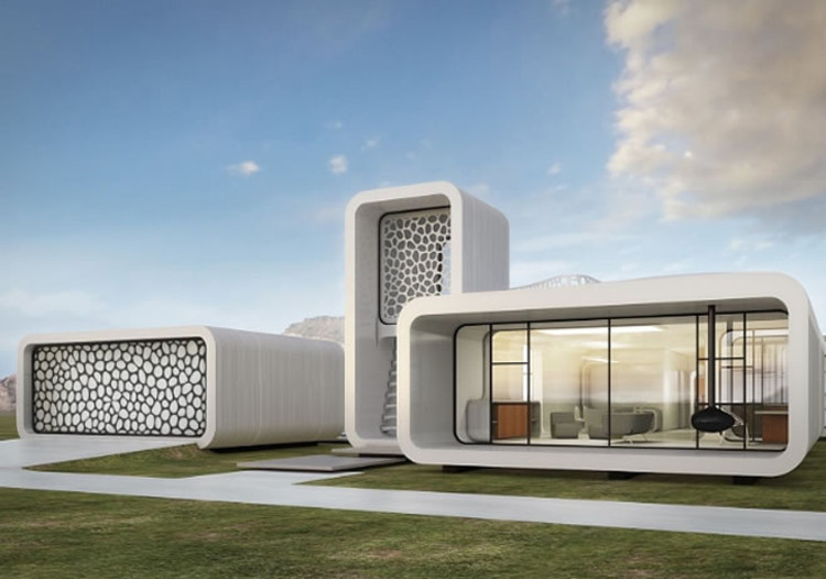 Dubai to Host World's First 3D Printed Building, via Obras