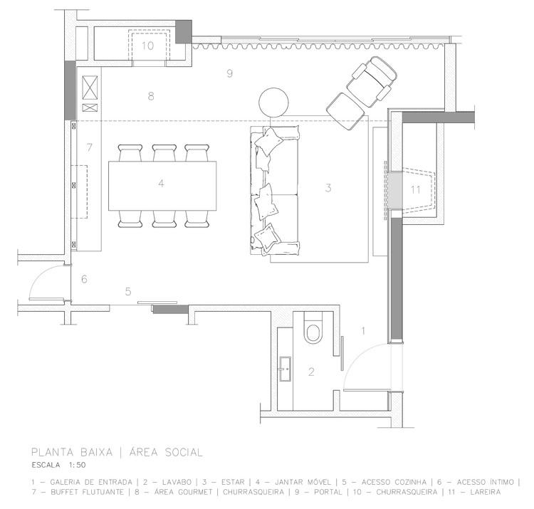Apartamento Jb Ambidestro Archdaily Brasil