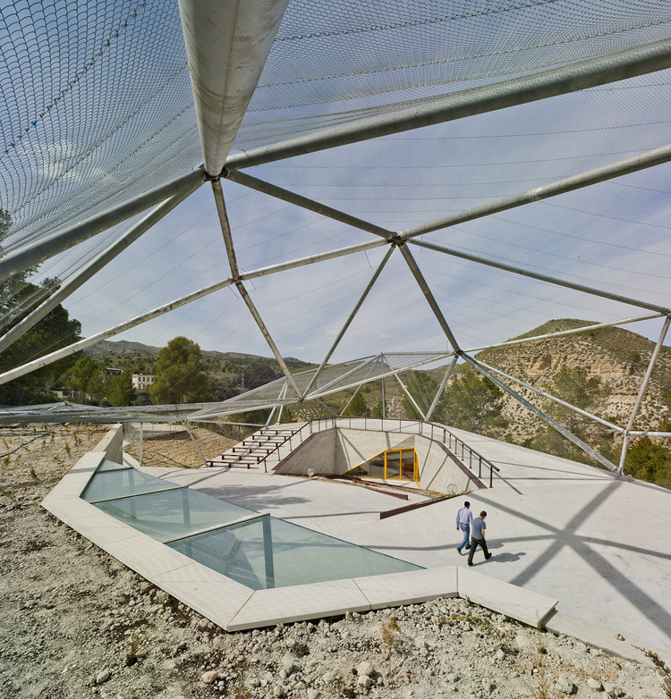 Almadenes Canyon Interpretation Center / Ad-hoc msl, © David Frutos Ruiz