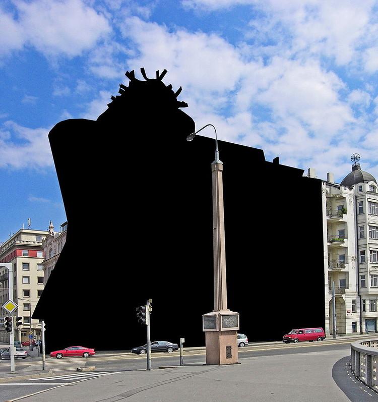 Wikipedia advierte de iniciativa europea que eliminará miles de fotografías de edificios (y te afectará), Casa Danzante en Praga, República Checa. Image Cortesia de Hpschaefer [Wikipedia user CC]