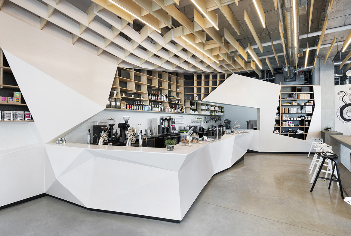 Gallery of odin bar caf phaedrus studio 4 for Interior decorating jobs retail