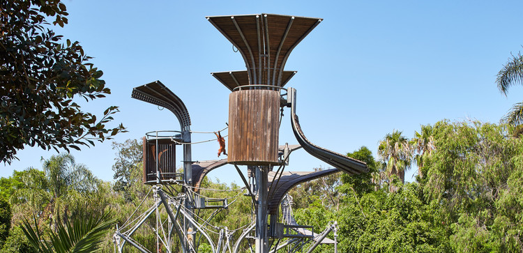 Perth Zoo Orang-utan Exhibit  / iredale pedersen hook architects, © Peter Bennetts