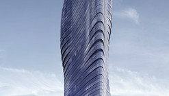 Beyonce's Curves Inspire Elenberg Fraser's Design for Melbourne Tower