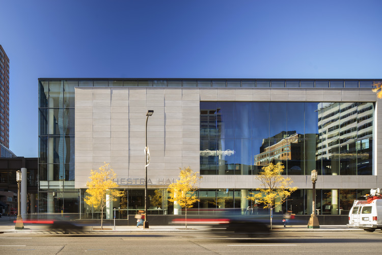 Minnesota Orchestra Hall / KPMB Architects, © Nic Lehoux