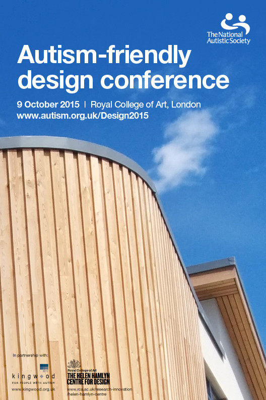 Conference: Autism-Friendly Design, Autism-Friendly Design Conference, 9 October 2015