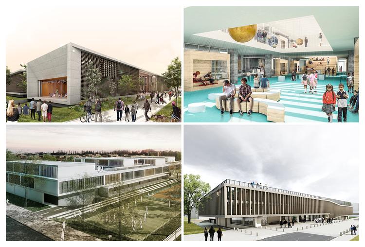 Conoce todos los proyectos premiados en 'Ambientes de Aprendizaje del siglo XXI: Colegio Pradera El Volcán', Propuestas premiadas. Image