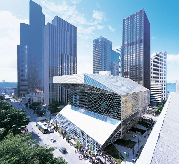 'Baby Rems' y el pequeño mundo de las pasantías arquitectónicas, Bjarke Ingels trabajó en la Biblioteca Central de Seattle durante su tiempo en OMA. Imagen Cortesía OMA