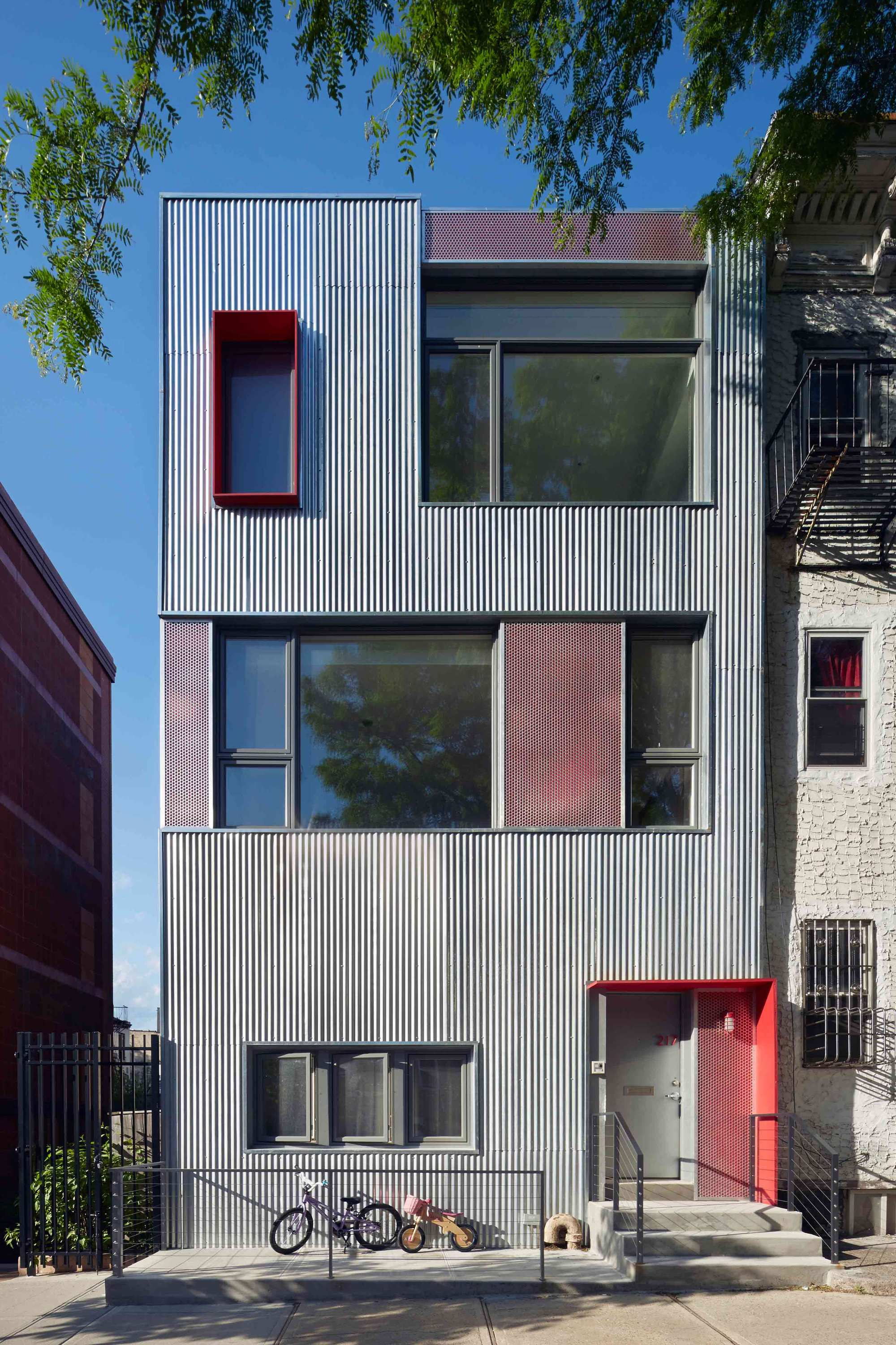 South Slope Townhouse Etelamaki Architecture Archdaily