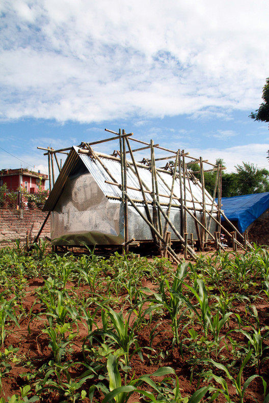 Temporary Shelter in Nepal / Charles Lai + Takehiko Suzuki, Courtesy of Charles Lai, Takehiko Suzuki