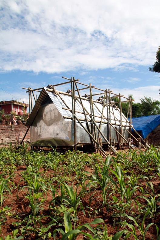 Refugio Temporal en Nepal / Charles Lai + Takehiko Suzuki, Cortesía de Charles Lai, Takehiko Suzuki