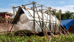 Temporary Shelter in Nepal / Charles Lai + Takehiko Suzuki