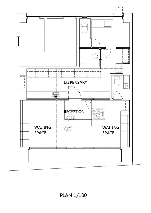 Pharmacy In Omori Mamm Design on Coffee Shop Layout Floor Plan