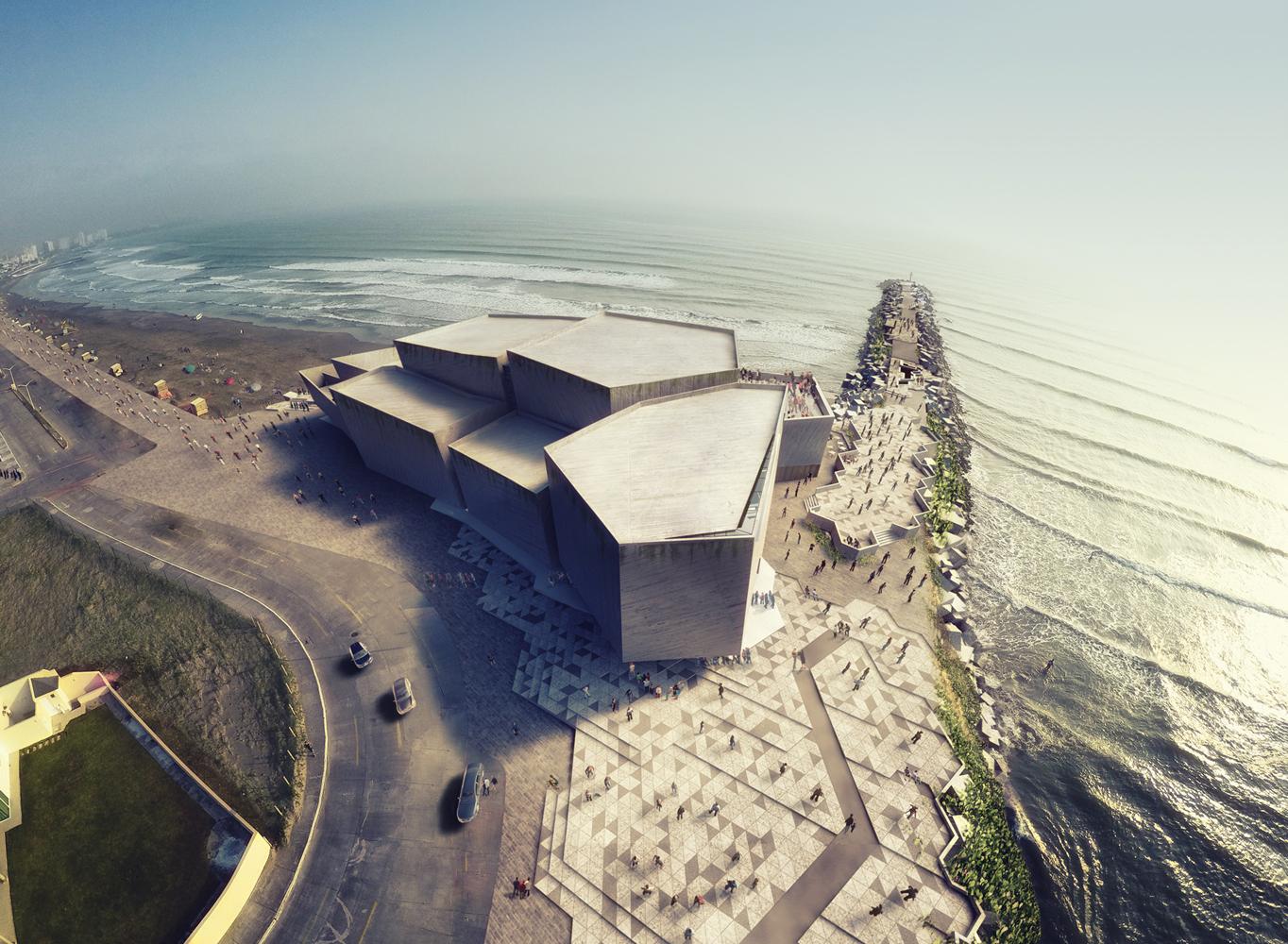 M xico inicia la construcci n del foro boca de rojkind for Articulos de arquitectura 2015