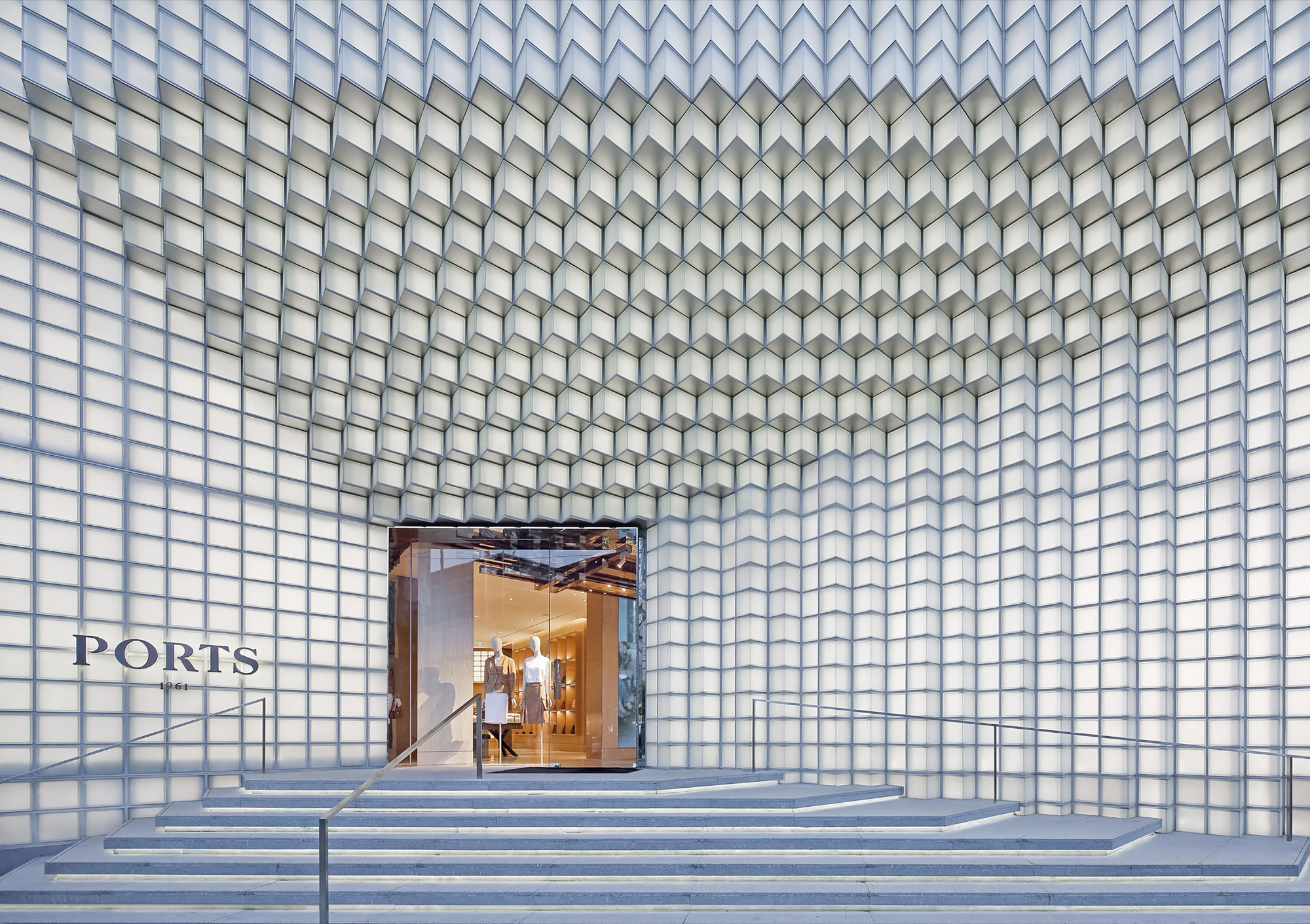Brick Facade Architecture Residential