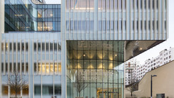 Hachette Livre Headquarters / Jacques Ferrier Architectures