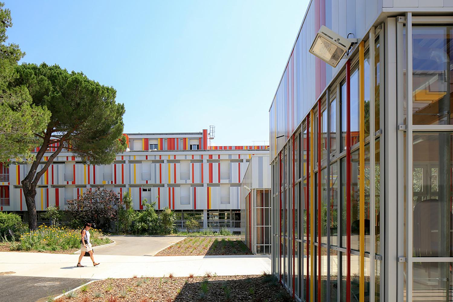 Gallery Of Honoré De Balzac High School Nbj Architectes 10