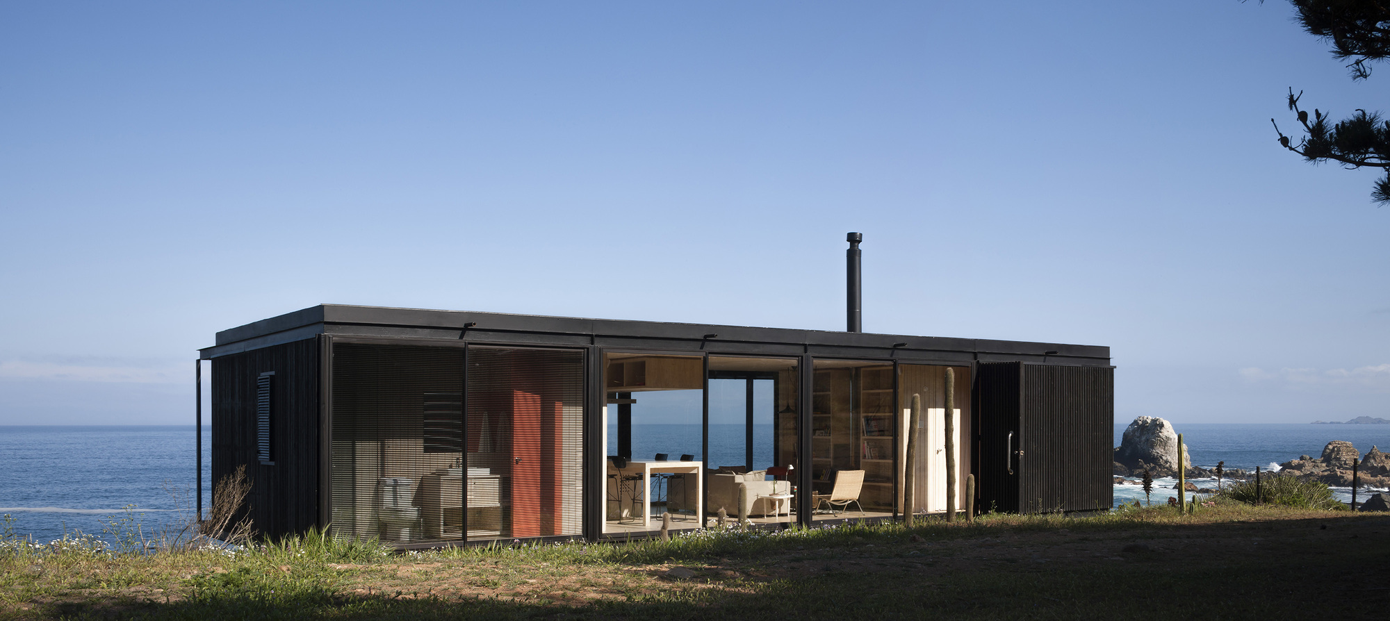 Galer a de casa remota felipe assadi 14 - Architect designed modular homes nz ...