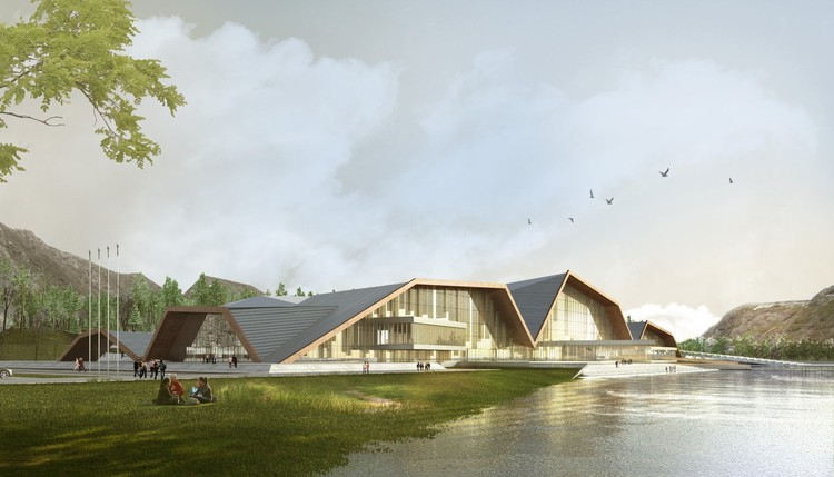 MuuM Designs Mountain-Inspired Cultural Center in Turkey, Courtesy of MuuM