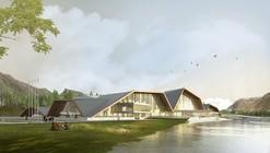 MuuM Designs Mountain-Inspired Cultural Center in Turkey