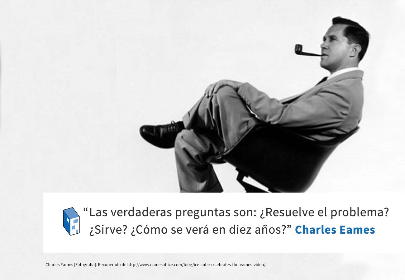 Frases: Charles Eames y el problema de diseño