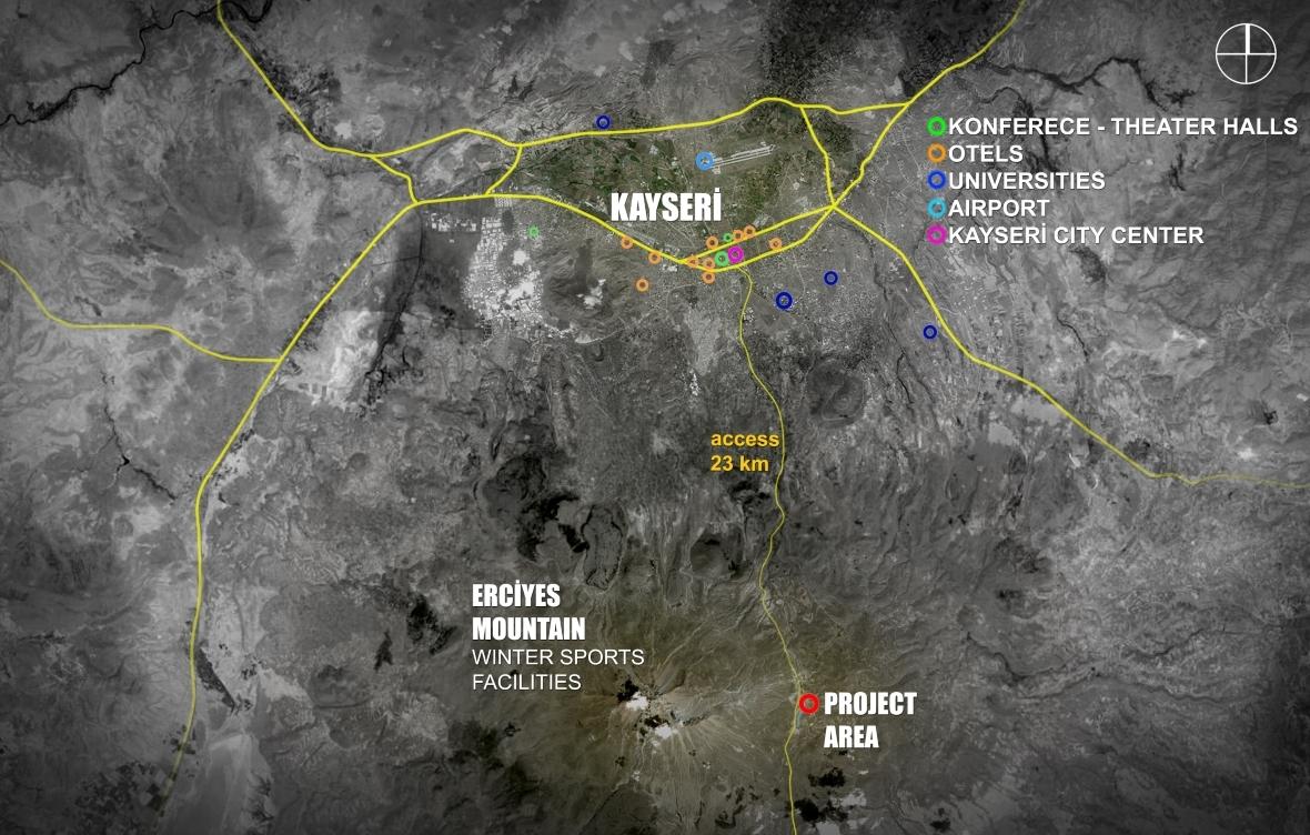 MuuM Designs Mountain Inspired Cultural Center in TurkeySite