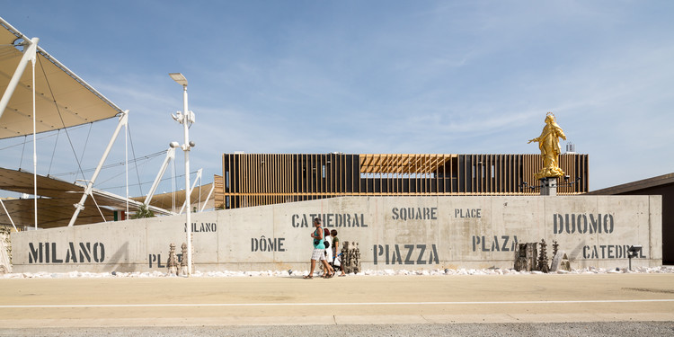 Dome Pavilion Milan Expo 2015 / Studio Mosae | ArchDaily