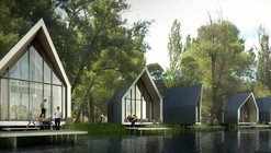 MuuM Designs Natural Life Center Oasis in Arid Anatolian Plains