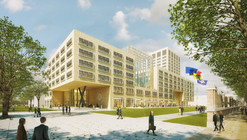 Neutelings Riedijk Architects Begins Construction on Largest Passive Office Building in Belgium