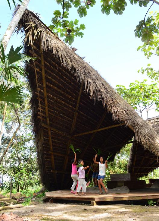 Centro de Interpretacion del Cacao  /  Taller Con Lo Que Hay 4 + ENSUSITIO Arquitectura, © Taller Con Lo Que Hay /ENSUSITIO Arquitectura