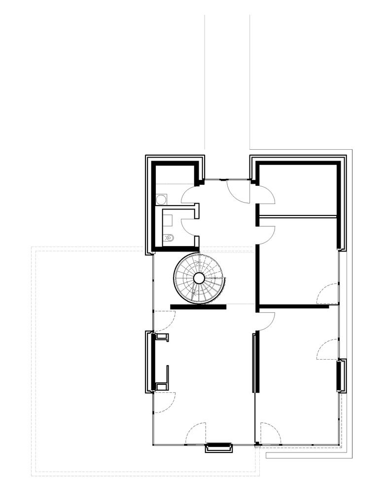 Villa In PotsdamGround Floor Plan