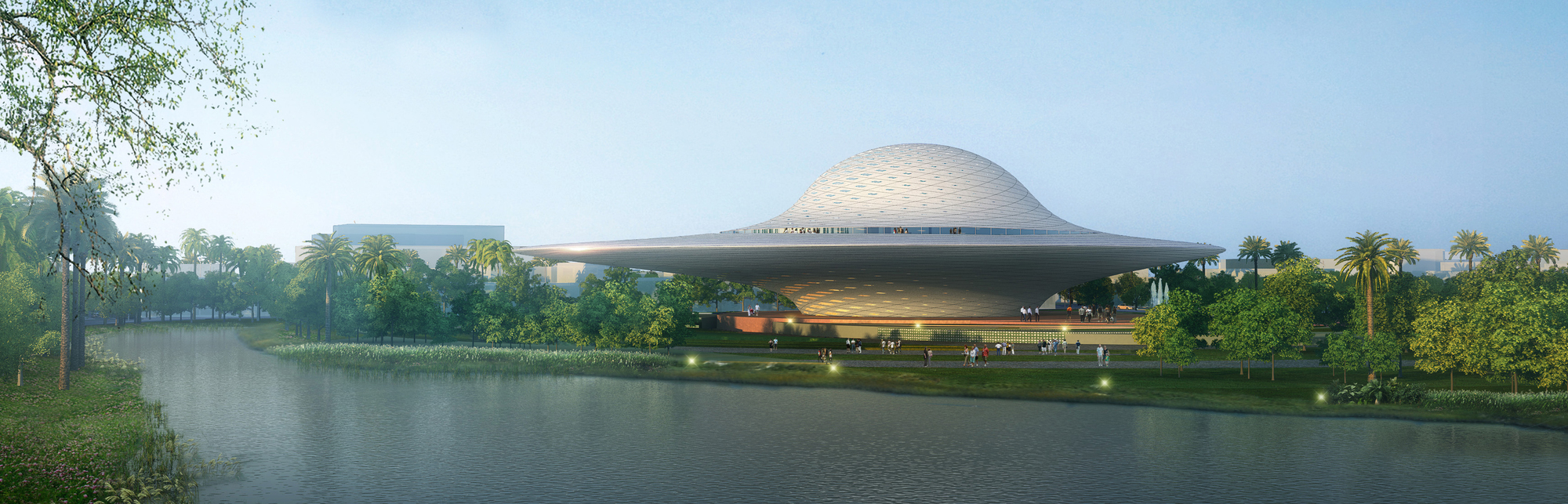 FR-EE Reveals Elliptical Design for Mexico's Mazatlán Museum