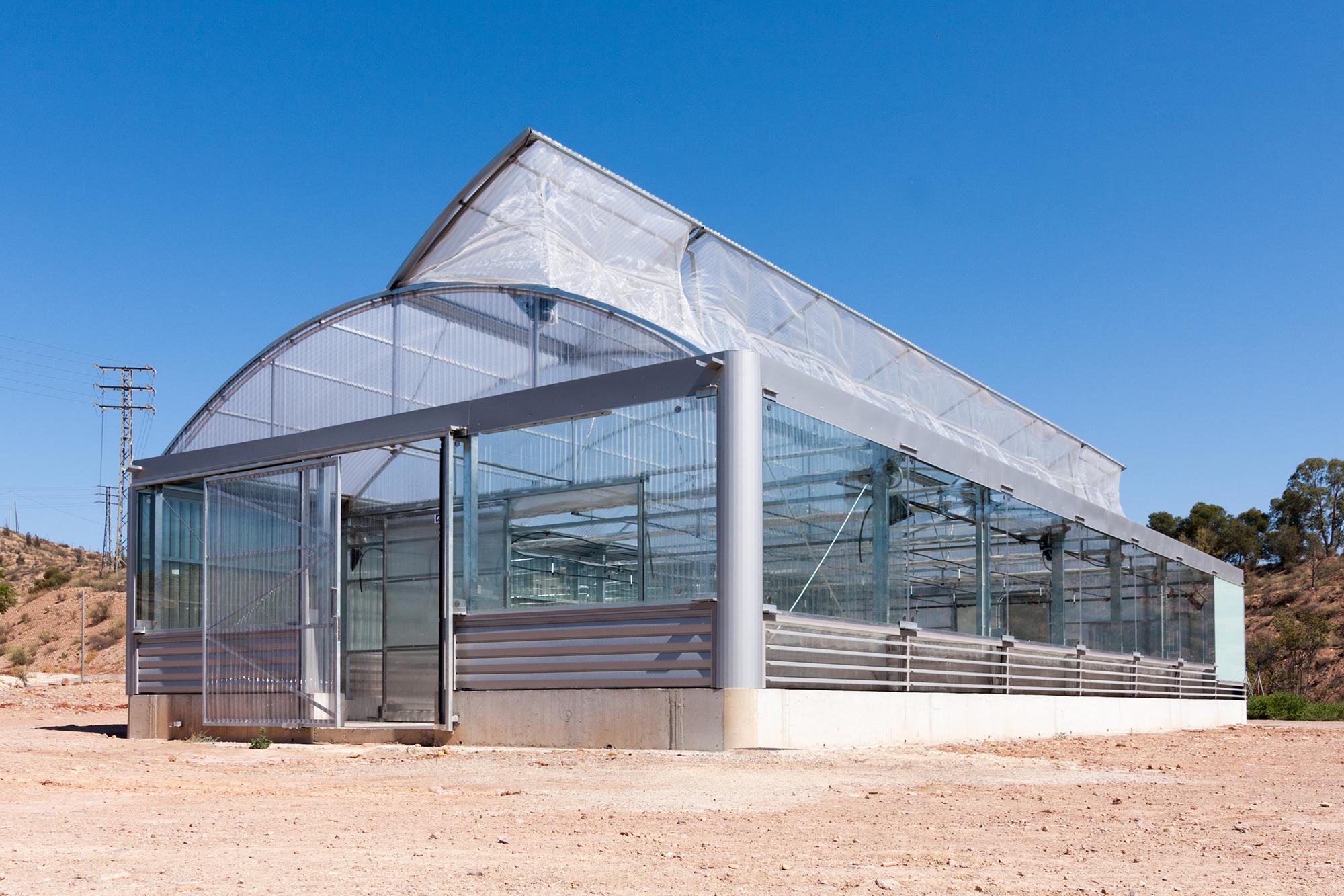 Geotermia ventilaci n natural y fachadas microperforadas - Invernadero para casa ...
