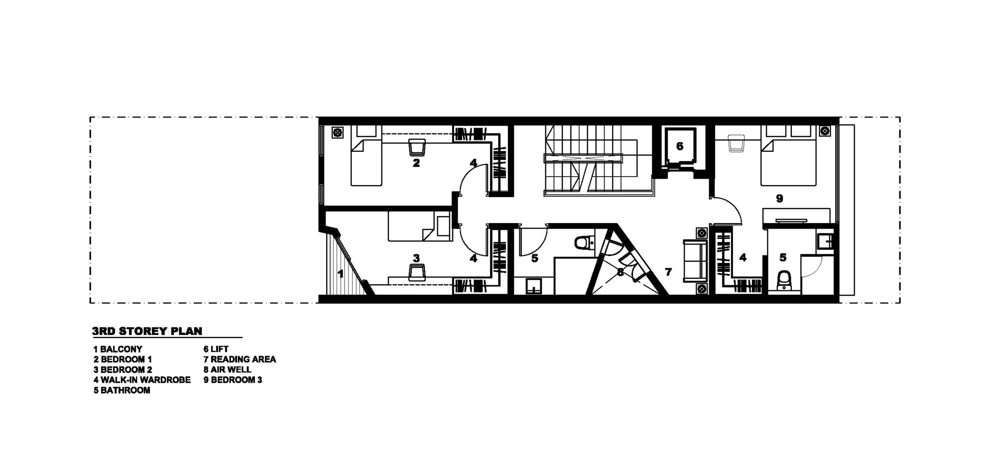 Gallery of house at poh huat road envelope architects 14 for Envelope house plans
